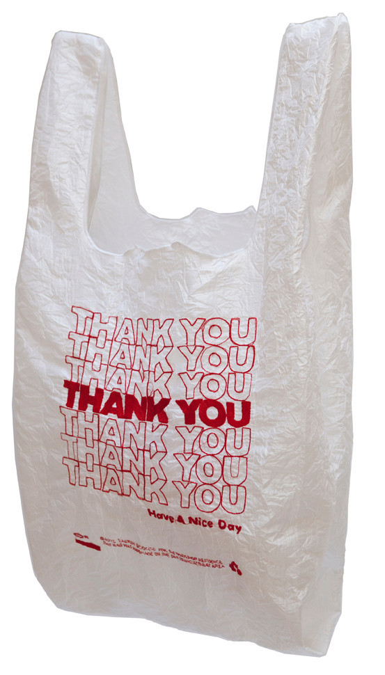 plastic bag thank you